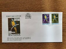 Guyana 1967 Christmas FDC Millie the Bilingual Parrot