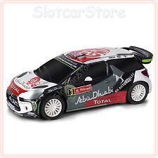"""SCX Compact 1:43 Citroën DS3 WRC """"Rally Portugal"""" (C10231) bedingt Carrera GO"""