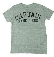 Costa Del Sol Mens Captain Pocket Short Sleeve T-Shirt Heather Grey M New