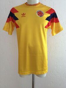 Colombia National Team Shirt Retro 1990 Valderrama Adidas Originals CE2338 2018