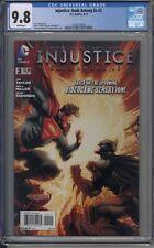 Injustice Gods Among Us # 2 CGC 9.8