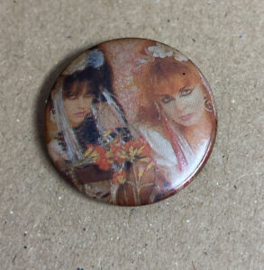 Strawberry Switchblade vintage 1980s Indie rock Badge Original By Red Moon