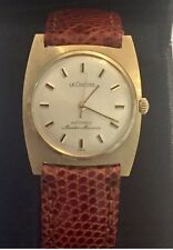 LE COULTRE MASTER MARINER 14 KT SOLID GOLD AUTOMATIC MENS LADIES LUXURY WATCH