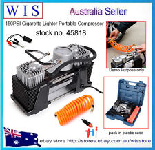 12V Air Compressor Pressure Pump Car 4x4 4WD Inflator Tire Kit 35L/min 150PSI
