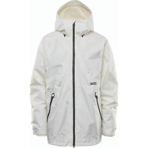 Snowboard Shell Jacket Mens Large White Thirtytwo Lashed 2021 32