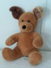 Build-A-Bear Plush Brown Puppy Dog- Stuffed Animal 12""