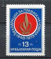37721) BULGARIA 1973 MNH** Human Rights 1v Scott# 2125