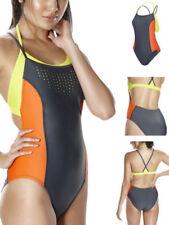 Abbigliamento arancione Speedo per il mare e la piscina da donna