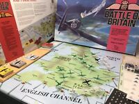 "Vintage ""BATTLE OF BRITAIN"" Board Game WW2 Battle Strategy TSR 1990 Complete VGC"