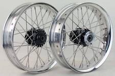 18x3.5 front 18x4.25 rear 32 spoke wire wheels Sportster 48 XL1200X Harley