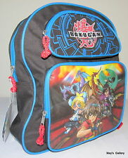 Bakugan  Back Pack  School Bag Backpack Medium 12  x 14  NWT