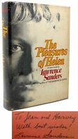 Lawrence Sanders THE PLEASURES OF HELEN Signed 1st 1st Edition 1st Printing