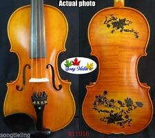 Strad Style SONG Brand master drawing violin 4/4,powerful sound #11016