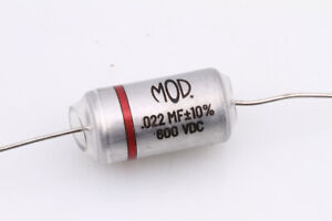 MOD Capacitor (Oil Filled) .022uF best for Gibson® Guitars