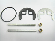 AK MIXER TAP FIXING HALF MOON SHAPE TWO HOLE COMPLETE KIT