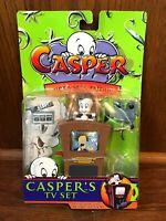 Casper's TV Set Vintage Trendmasters Hide & Seek Friends Figure MOC New 1997