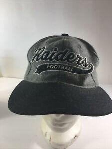 Vtg Los Angeles Raiders Starter Script Wool SnapBack Hat Cap NFL needs cleaning