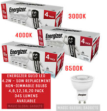 ENERGIZER GU10 LED Bulbs Spot light Lamps Warm Cool Day White Down lights