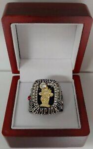 LeBron James - 2012 Miami Heat Championship Custom Ring WITH Wooden Box