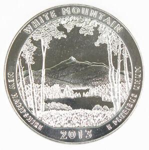2013 White Mountain America the Beautiful National Park 5 oz Silver Coin GEM BU