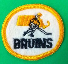 """Boston Bruins  NHL Vintage  Logo    Patch 2"""" Inch Iron On/ Sew On"""