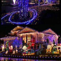Xmas LED Net Mesh Fairy String Lights Christmas Wedding Outdoor Party Home Decor