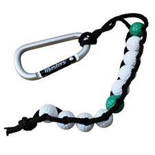 Masters Bead Stroke Counter - Golf Carabiner Clip