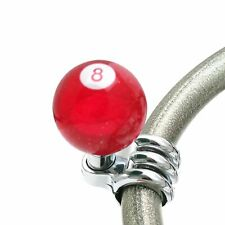 Red 8 Ball Custom Brody Knob Translucent with Metal Flake racing road king