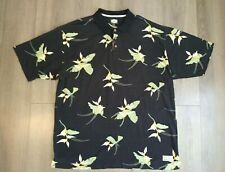 Tommy Bahama Mens Floral Casual Polo Size Xxl