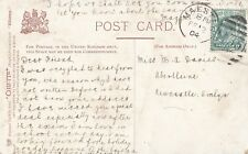 KEVII - 1/2 d on postcard - stamped Maesteg, Wales - February 1904 (P3)