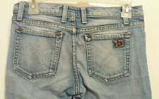 Joe's Jeans Rush Low Rise Distressed Boot Cut Stretch Jeans Womens Size 25
