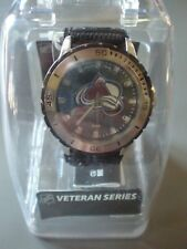 Game Time NHL Colorado Avalanche Veteran Series Watch Black New in Case