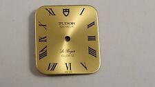 Tudor Le Royer Geneve Quartz Quadrante Cuscino 16,5mm x 18,5mm NOS