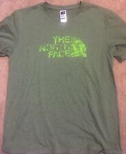 The North Face T Shirt Size Medium Green