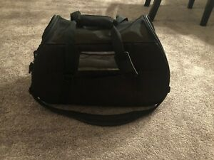 Pet Carrier with Fleece Bed for Dog & Cat