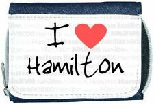 I love coeur Hamilton Denim Portefeuille