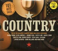 101 Hits Country (5 x CD) Shania Twain/Crystal Gayle/Lynyrd Skynyrd/Helen Reddy