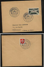 France  B329   on special  cancel  cover   1959         KL0831