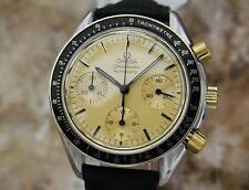 Omega Speedmaster Swiss Made 18k Gold & Stainless 1990s Swiss Made Watch LV104