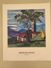 HERMANN HESSE, 'FOHN,1924' RARE 1993 ART PRINT