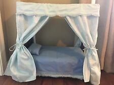 American Girl Doll Elizabeth's bed and bedding