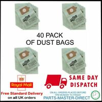 FITS NUMATIC HENRY HETTY VACUUM CLEANER HOOVER GREEN DUST BAGS 40 PACK