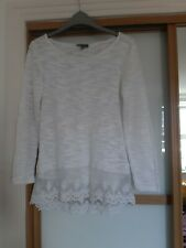 Size 8-18 New Phase Eight Celestia  Broderie Cotton Summer Holiday Top