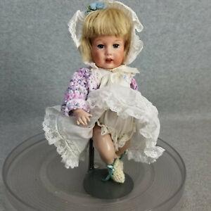 "9"" artist antique reproduction bisque French SFBJ 251 Paris Doll w Seeley Body"