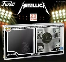 Funko Pop! Metallica Band Pop Vinyl Black Album Limited Exclusive Preorder F/S