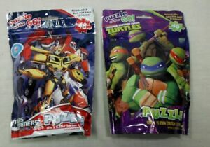 """Transformers And Teenage Mutant Ninja Turtle 48 Pc Puzzles On The Go 15""""x11.25"""""""