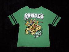 TMNT Teenage Mutant Ninja Turtles Pizza Video Games Boys Shirt Size XL