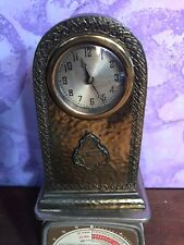Vintage Wind-up Brass SOUVENIR NIAGARA Mantle CLOCK