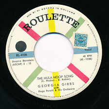 """GEORGIA GIBBS 45 TOURS 7"""" HOLLANDE KEEP IN TOUCH THE HULA HOOP SONG"""