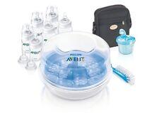 Philips Avent Bottle Feeding Essentials Kit Microwave Steriliser Kit - AVE283/00